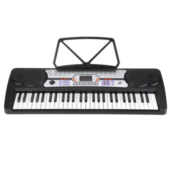 Harga 54 Keys Display Digital Electronic Music Keyboard Electric Piano Organ with Sheet Music Holder Microphone
