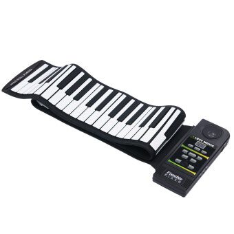 88 Key Electronic Piano Electronic Keyboard Silicon Flexible Roll Up Piano with Loud Speaker