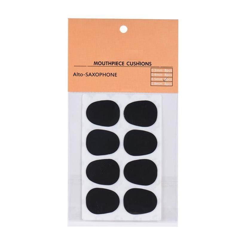 8pcs Alto/ Tenor Saxophone Sax Mouthpiece Cushions Patches Pads Silicone Material Thickness 0.5mm Malaysia