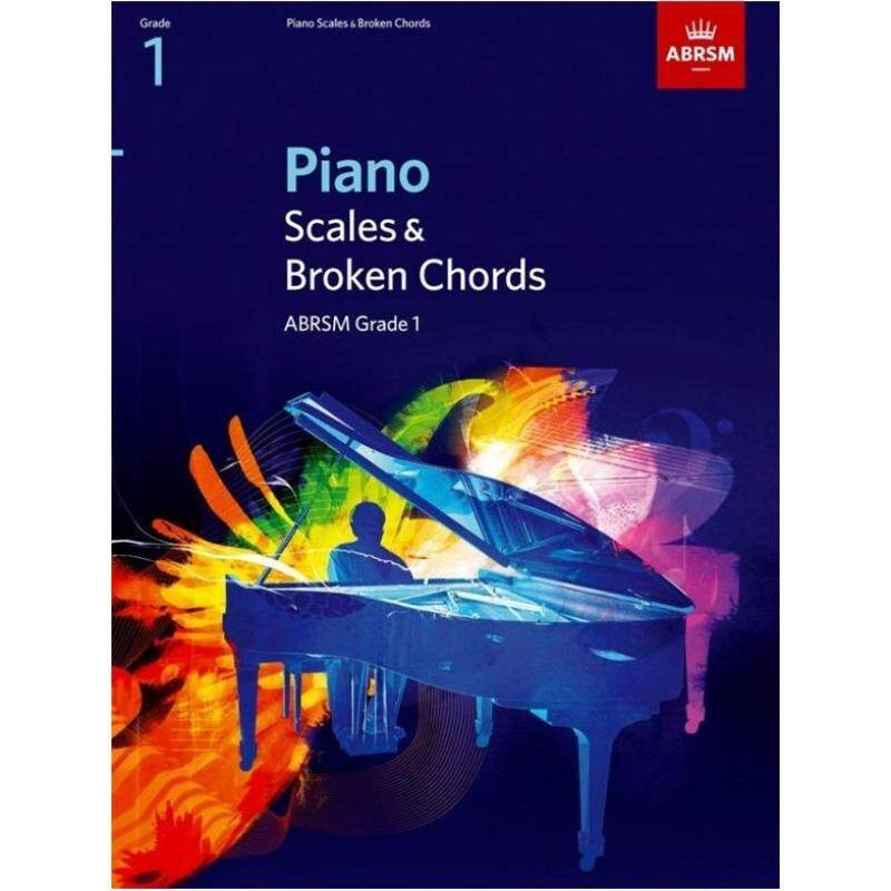 ABRSM PIANO SCALES AND BROKEN CHORDS: FROM 2009 (GRADE 1) Malaysia