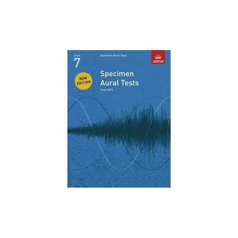 ABRSM SPECIMEN AURAL TESTS - GRADE 7 (2011+) BOOK ONLY Malaysia
