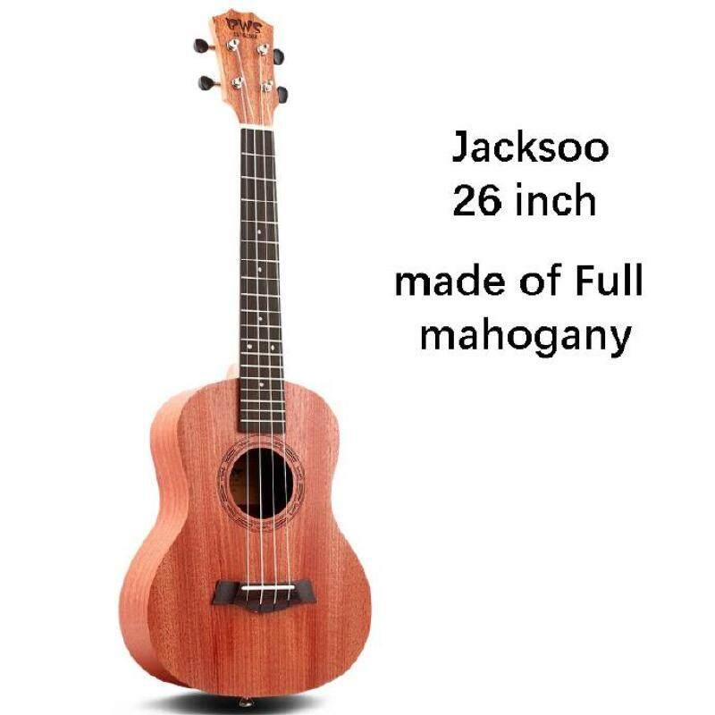 Adult female ukulele beginner students 23 inch ukulele26 inch small guitar ukulele with free bag pick strap string Malaysia