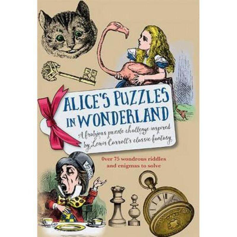Alices Puzzles In Wonderland 9781780976754 Malaysia