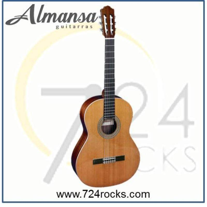Almansa Spain 402 Solid Top Student Classical Guitar Malaysia