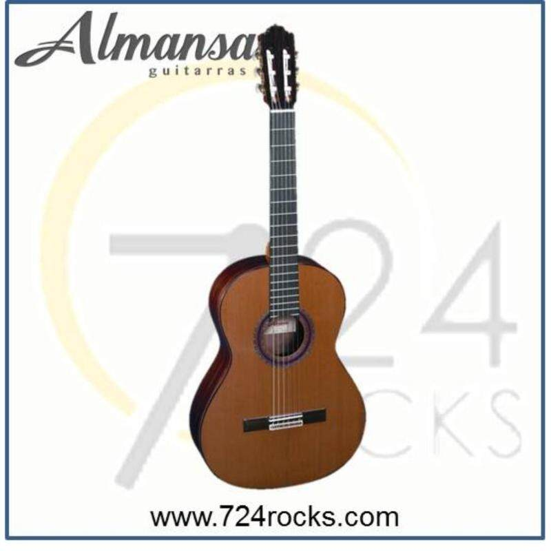 Almansa Spain 434 Solid Top Conservatory Classical Guitar Malaysia