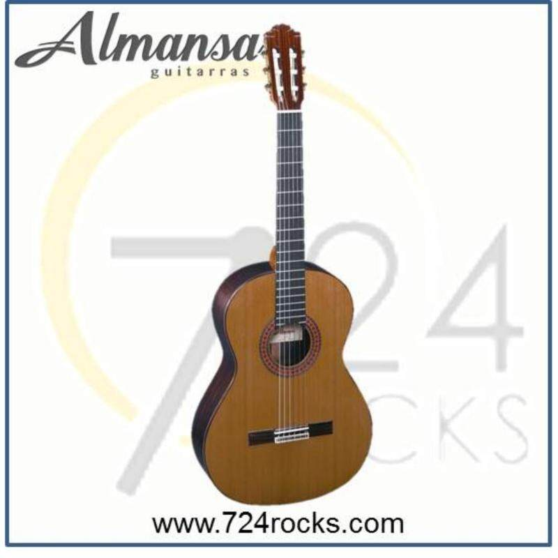 Almansa Spain 435 Solid Top Conservatory Classical Guitar Malaysia