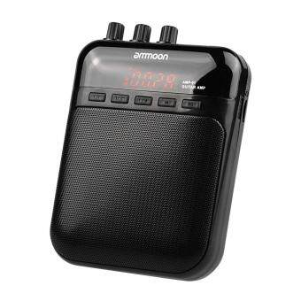 Harga ammoon AMP -01 5W Guitar Amp Recorder Speaker TF Card Slot CompactPortable Multifunction Outdoorfree