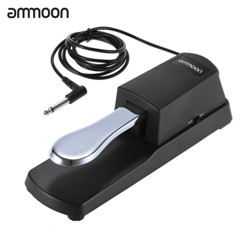 ammoon Piano Keyboard Sustain Damper Pedal for Casio Yamaha Roland Electric Piano Electronic Organ Malaysia