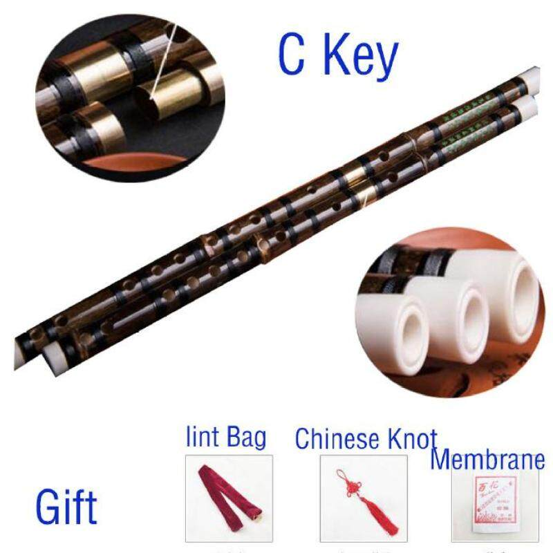 Bamboo Flute Dizi Traditional Handmade Chinese Musical Woodwind Instrument C,D,E,F,G Key Study Level Professional Performance Malaysia
