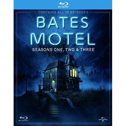 Bates Motel (Season 1-3) -6-Cakram Kotak Set (Bates Motel-Seasons Satu Dua & Tiga (30 Episode)) (+ UV Copy) [Blu-ray Reg. sebuah/B/C Import-Inggris] [Semua Wilayah]-Internasional