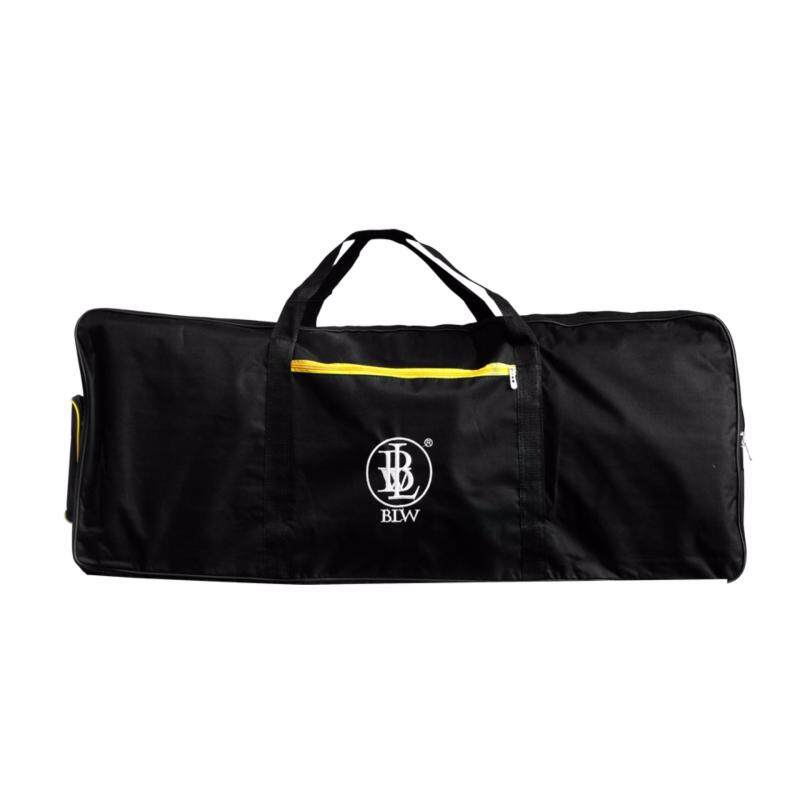 BLW Sponge Padded 600D 3 Compartments 61 Keys Keyboard Bag Soft case (Black) Malaysia
