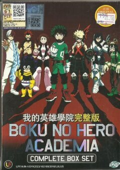 BOKU NO HERO ACADEMIA - COMPLETE ANIME TV SERIES DVD BOX SET (1-13EPISODES)