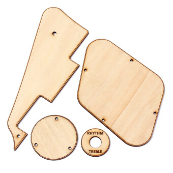 Harga BolehDeals Maple WOOD LES PAUL USA PICKGUARD TRUSS CONTROL COVERSGIBSON LP