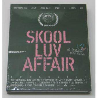 Harga BTS BANGTAN BOYS - Skool Luv Affair (2nd Mini Album)CD+Photobook+Photocard+Extra Photocards Set