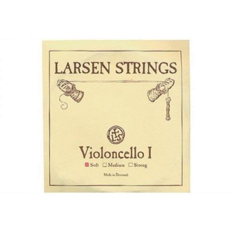Cello Strings 4/4 Set Larsen Solo A+D, Spirocore Tungsten G+C Malaysia