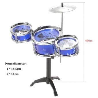 Features Children Kids Small Jazz Drum Set Toy Gift Puzzle