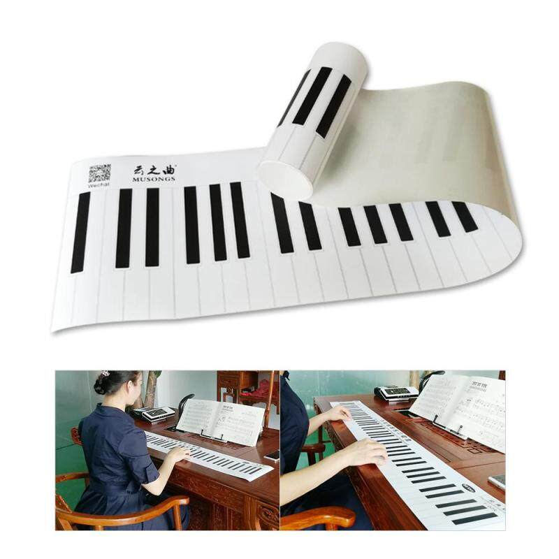 Classic Version 88 Key Keyboard Piano Finger Simulation Practice Guide Teaching Aid Note Chart for Beginner Student Malaysia