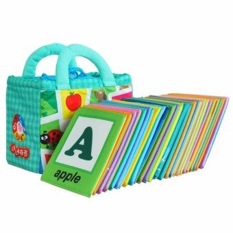 Harga Cloth Alphabet Learning Card 0-3 years old -BKM01