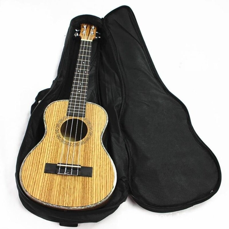 Cocotina Ukulele Soft Comfortable Shoulder Back Carry Case Bag With Straps Black For Gift 23 Malaysia
