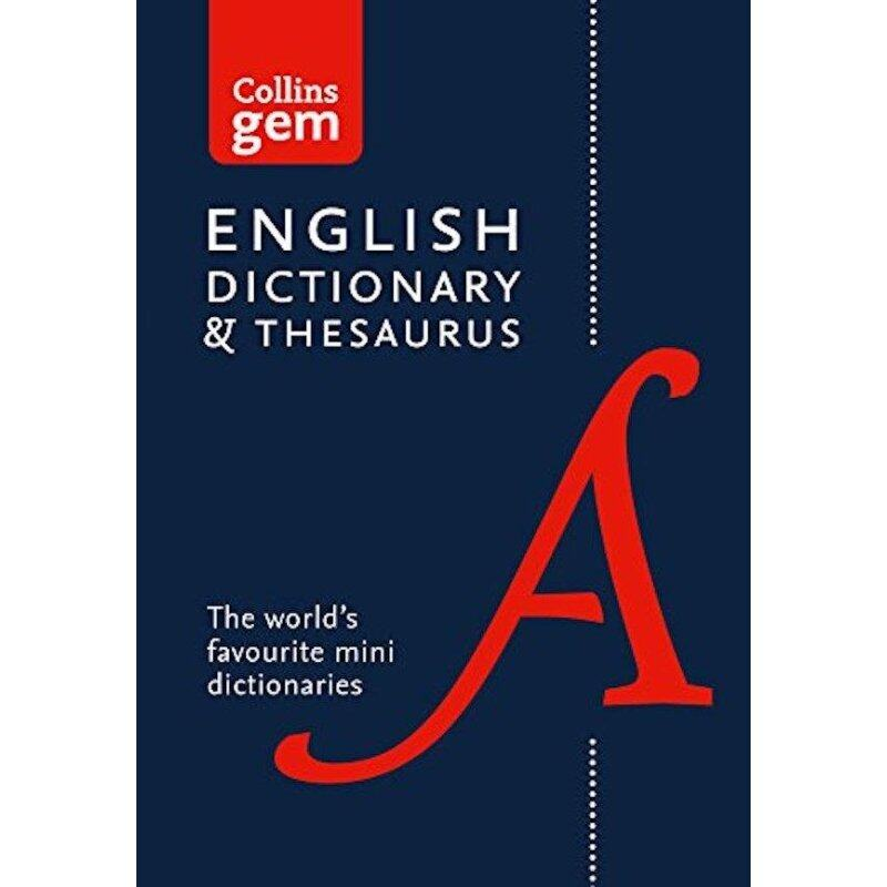 Collins Gem – Collins Gem Dictionary and Thesaurus Malaysia