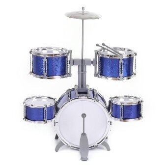Features Kids Musical Toys Simulation Jazz Drum Music With 5 Drums