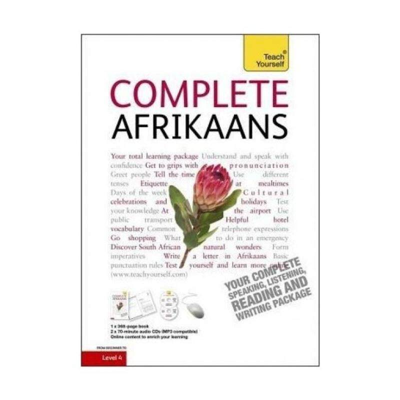 Complete Afrikaans Beginner to Intermediate Book and Audio Course: (Book and Audio Support) Learn to Read, Write, Speak and Understand a New Language with Teach Yourself Malaysia
