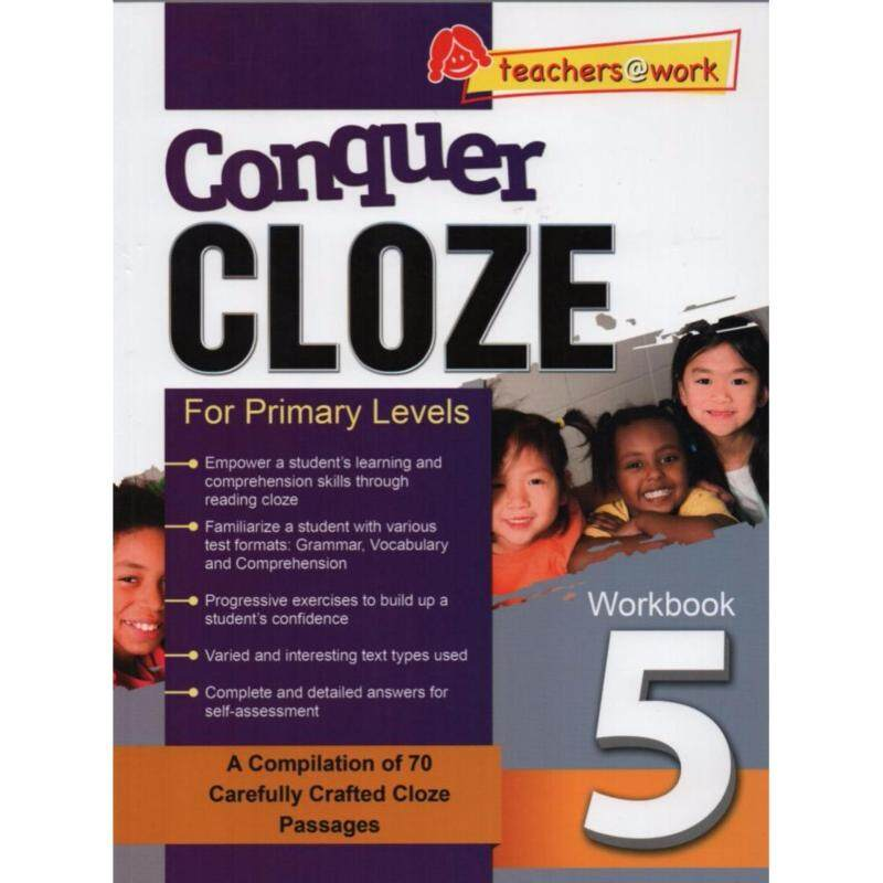 Conquer Cloze For Primary Levels Workbook 5 Malaysia