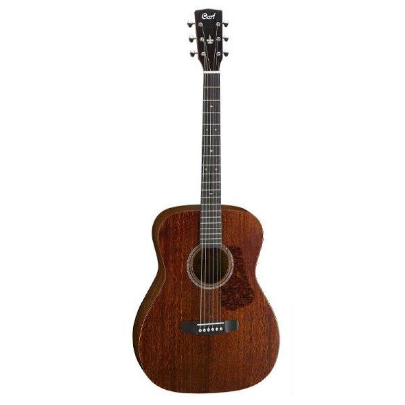 CORT L450 C Smaller Body Size Full Solid All Mahogany Acoustic Guitar Malaysia
