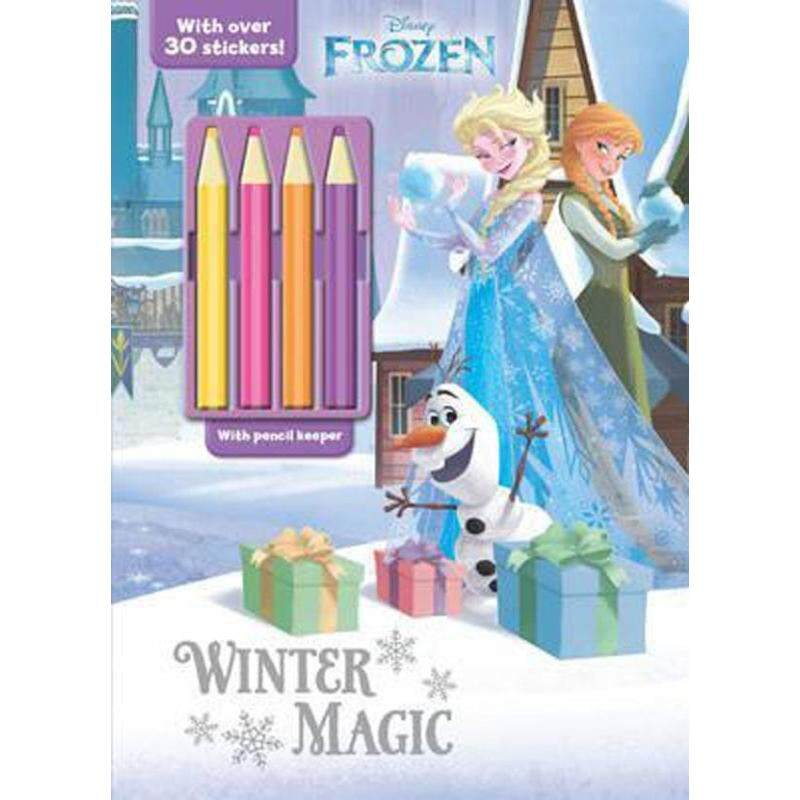 Disney Frozen Winter Magic : With Over 30 Stickers! Malaysia