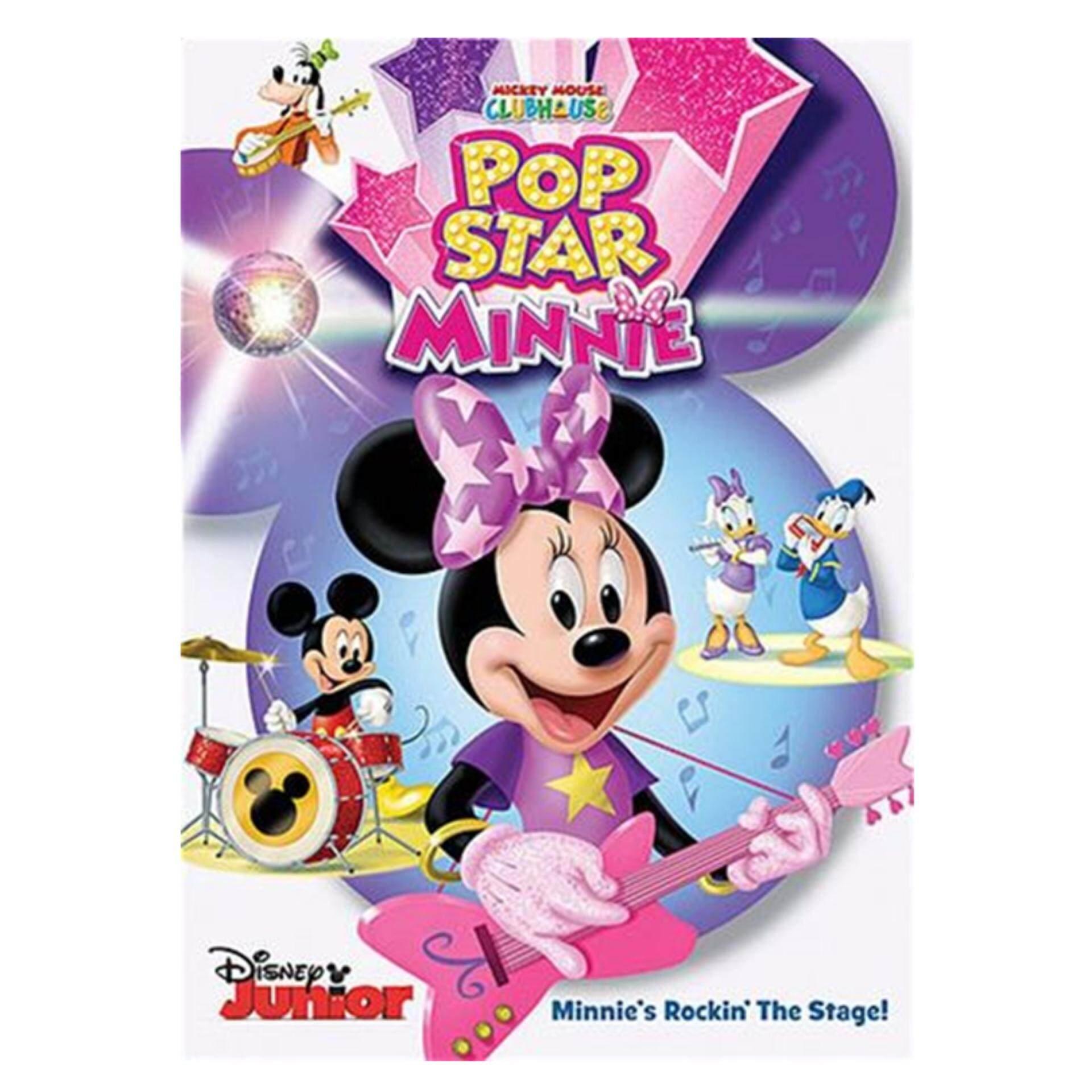 Disney Mickey Mouse Clubhouse Pop Star Minnie - DVD