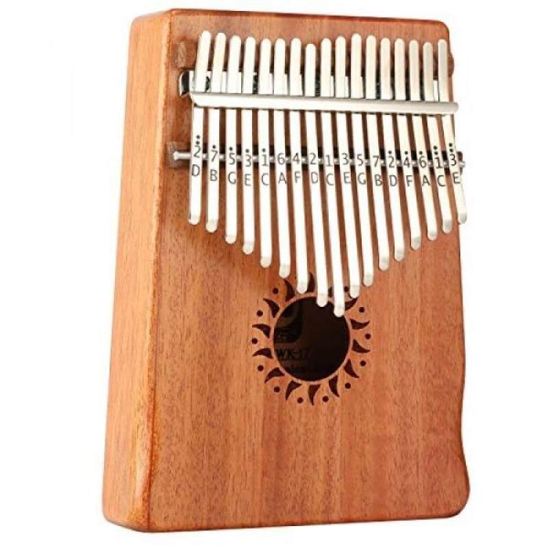 Donner 17 Key Kalimba Thumb Piano Solid Finger Piano Mahogany Body DKL-17 Malaysia