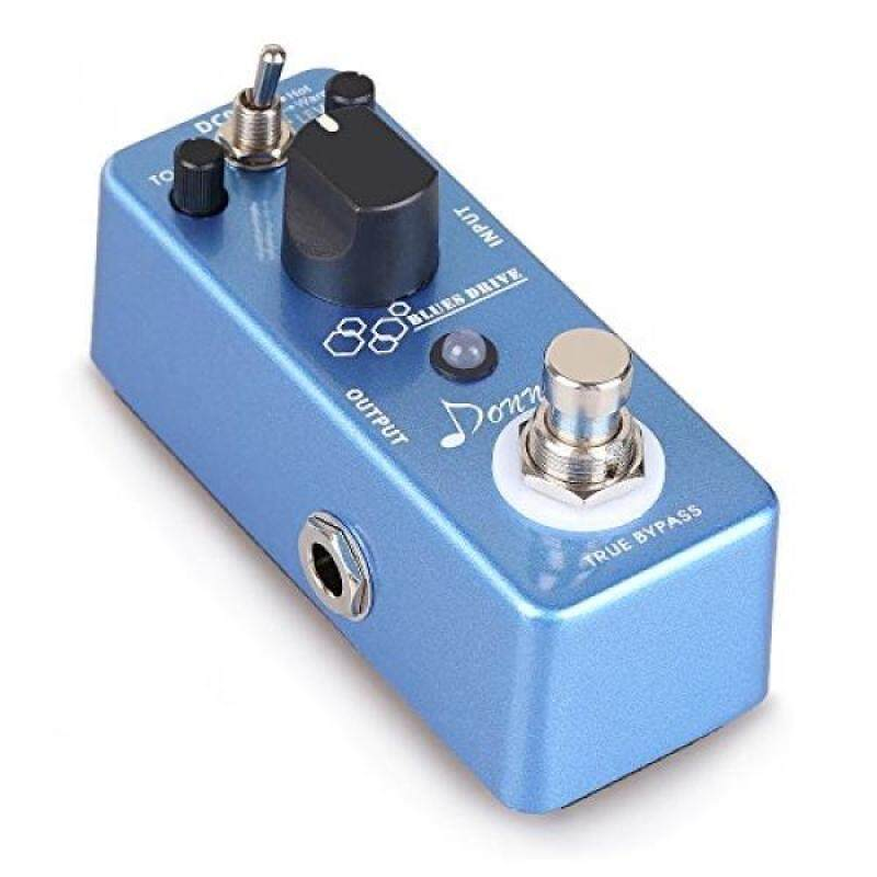 Donner Blues Drive Classical Electronic Vintage Overdrive Guitar Effect Pedal True Bypass Warm/Hot Modes Malaysia