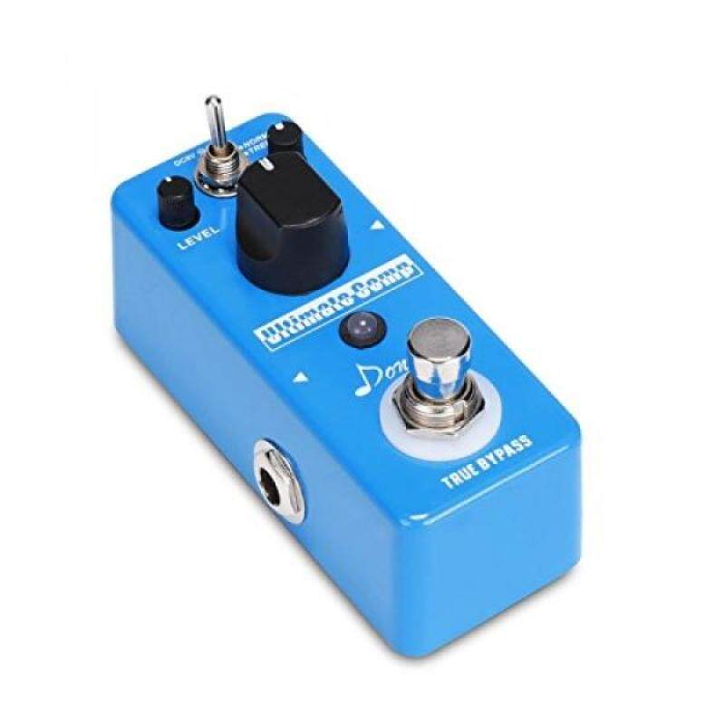 Donner Compressor Pedal Ultimate Comp Guitar Effect Pedal Malaysia