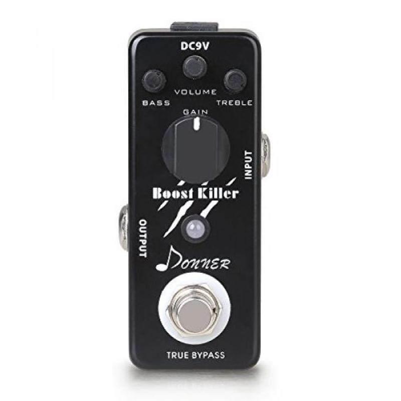 Donner True Bypass Boost Killer Guitar Effect Pedal Rich Distortion Sound Malaysia