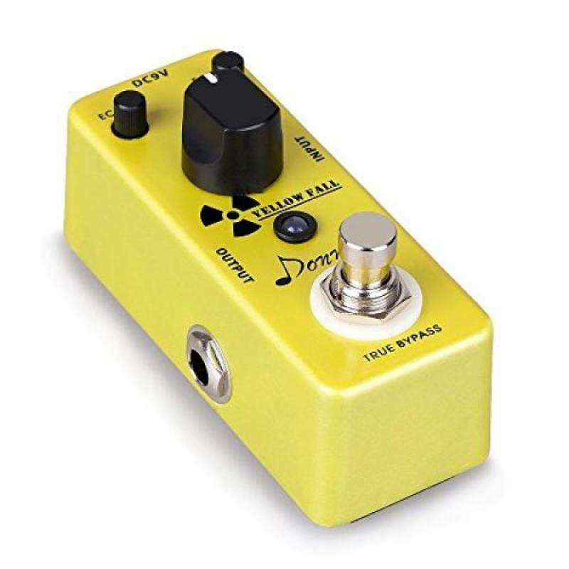 Donner Yellow Fall Vintage Pure Analog Delay Guitar Effect Pedal True Bypass Malaysia