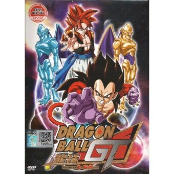 Harga DRAGON BALL GT - COMPLETE ANIME TV SERIES DVD BOX SET (1-64EPISODES)