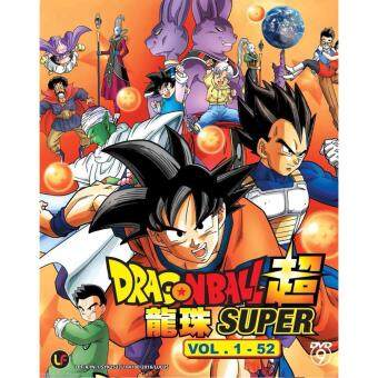 Harga DRAGON BALL SUPER - ANIME TV SERIES DVD BOX SET (1-52 EPISODES)
