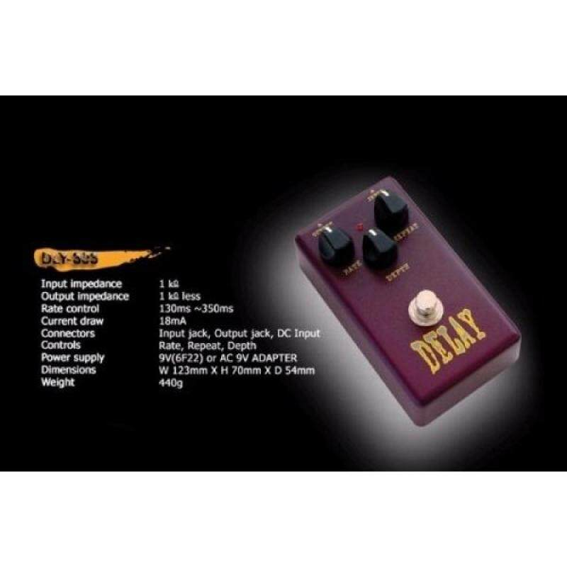 Effect Pedal Delay Genuine Belcat DLy-303 (ROHS) Guitar Bass Side Tone Single... Malaysia