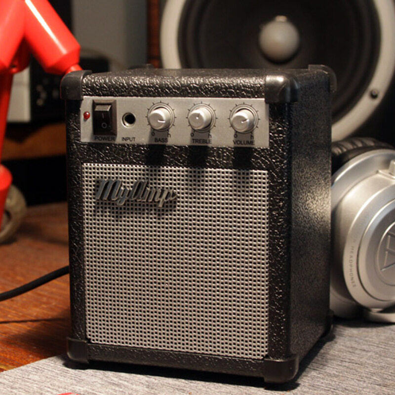 Electric Guitar Amplifier Engraved Audio Mini-portable Engraved Guitar Amp(Volume Adjustable) Malaysia