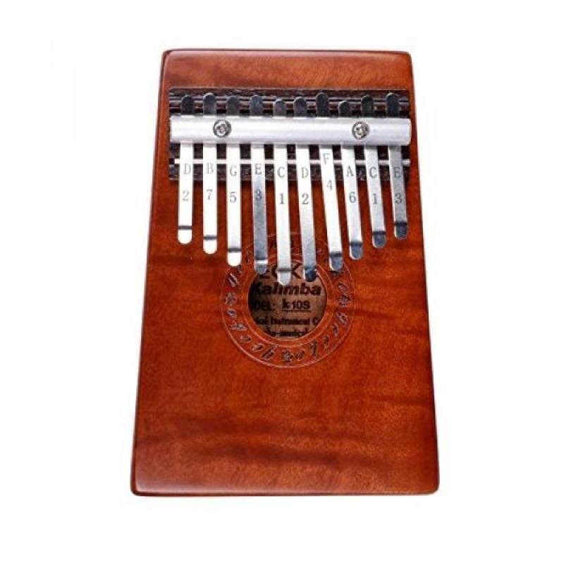 Ellen Music Creative Natural 10 Keys Kalimba Finger Thumb Piano Practice Finger Flexibility Coordnation (Natural Keys) Malaysia