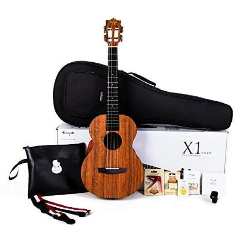 Enya EUB-X1 Baritone Ukulele 30inch HPL Ukelele Beginner Kit with Padded Gig bag,String,Tuner,Strap,Capo,Picks,Polishing cloth Malaysia