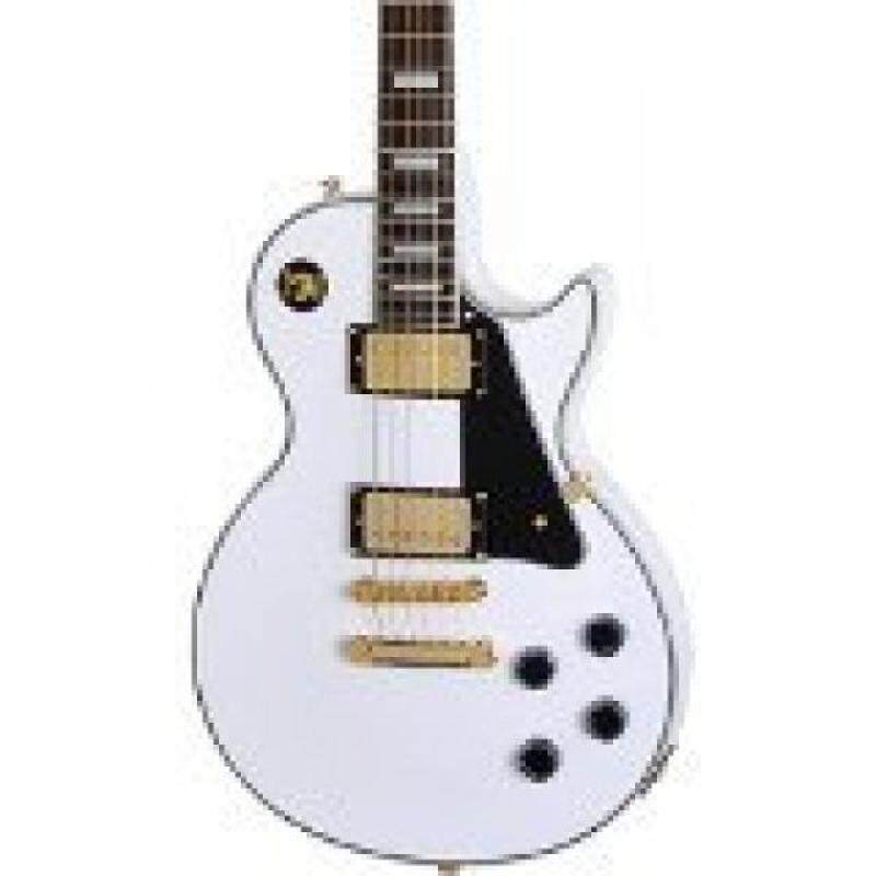 Epiphone Les Paul CUSTOM PRO Electric Guitar with Coil Tapping, Alpine White Malaysia