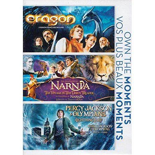 Eragon / The Chronicles of Narnia: The Voyage of the Dawn Treader / Percy Jackson and the Olympians: The Lightning Thief (Own The Moments Feature) [Region 1] - intl