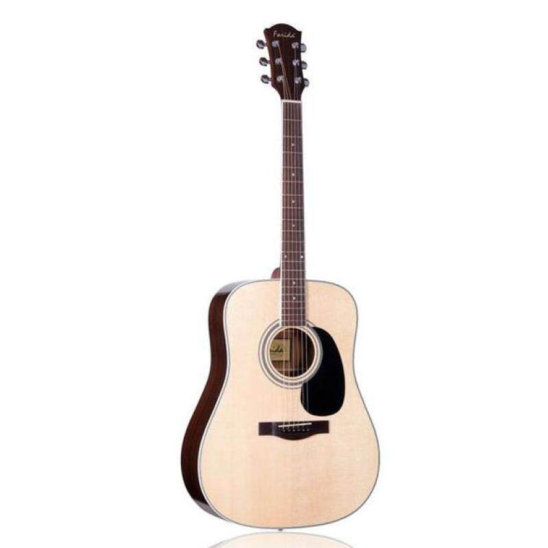 FARIDA D16 Solid Sitka Spruce Top Acoustic Guitar Malaysia