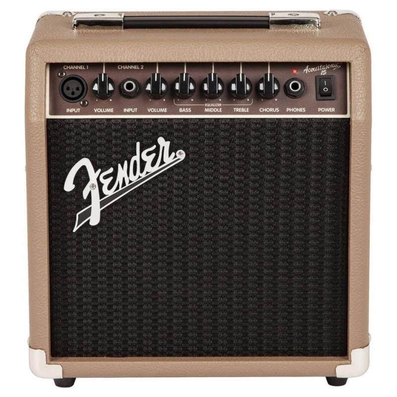 Fender Acoustasonic 15 Acoustic Guitar Amplifier Malaysia