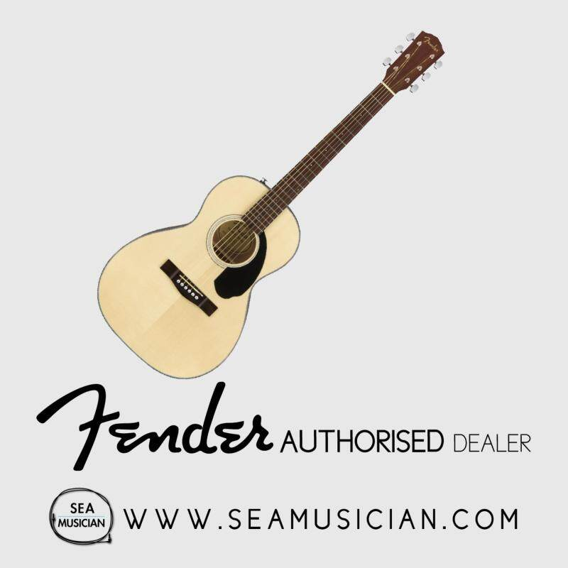 FENDER CP60S CP SERIES PARLOR ACOUSTIC GUITAR NATURAL (CP 60S/CP-60S) Malaysia