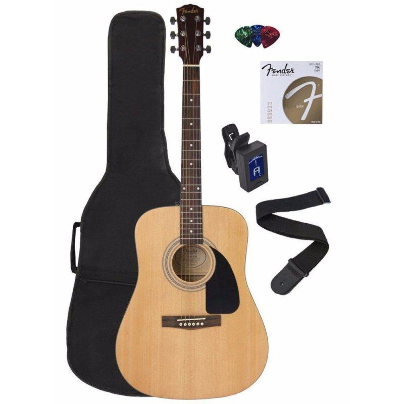 Fender FA-100 Acoustic Guitar Pack Malaysia
