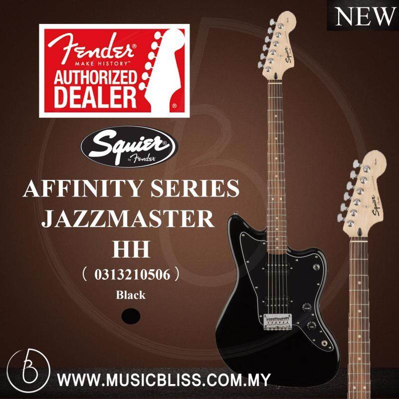 Fender Squier Affinity Jazzmaster HH Electric Guitar (Black) Malaysia