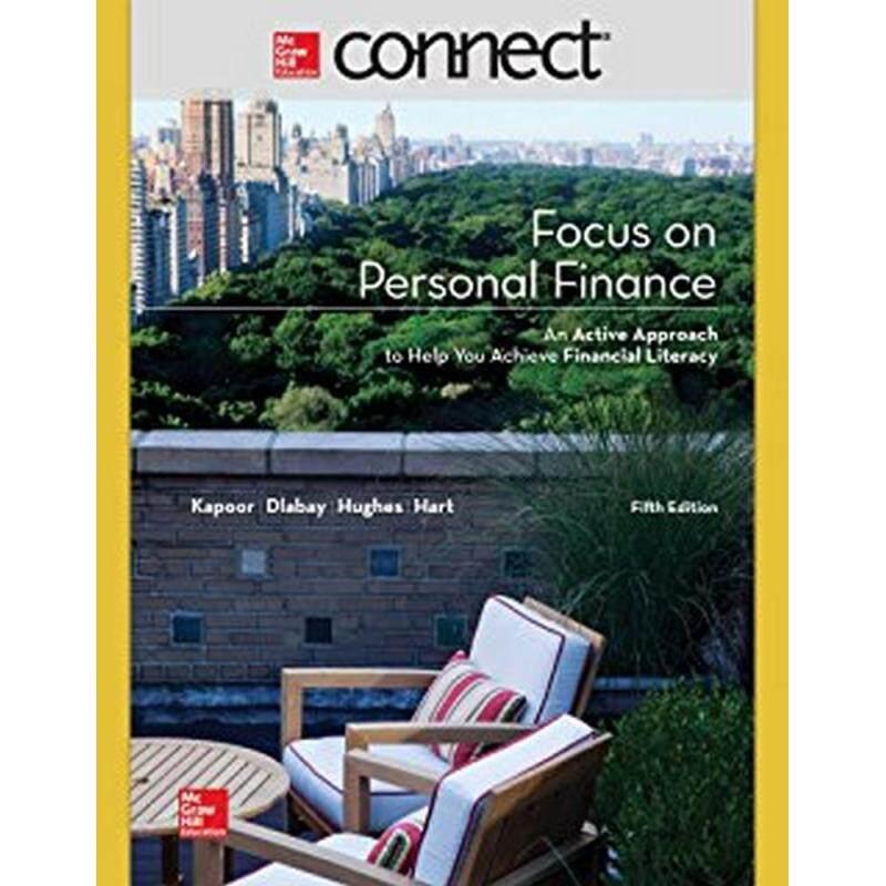 FOCUS ON PERSONAL FINANCE 5ED - ISBN: 9781259251054 Malaysia