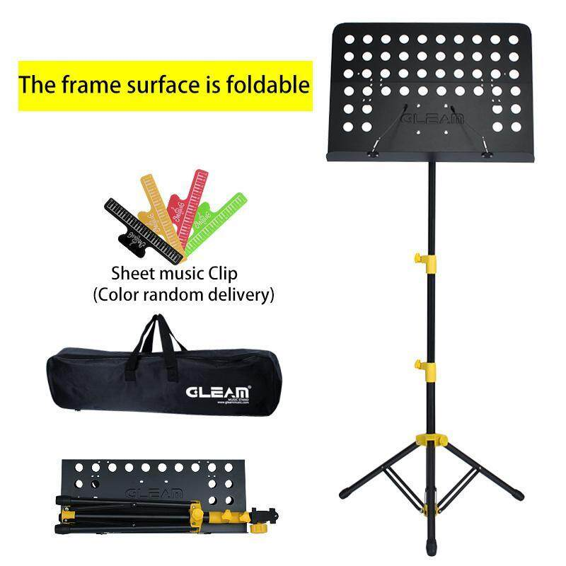 Folding Portable Music Stand Can Lift Scores Stand Zither Music Rack Spectrum Station Malaysia